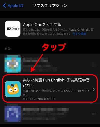 楽しい英語 Fun English をタップするの説明画像