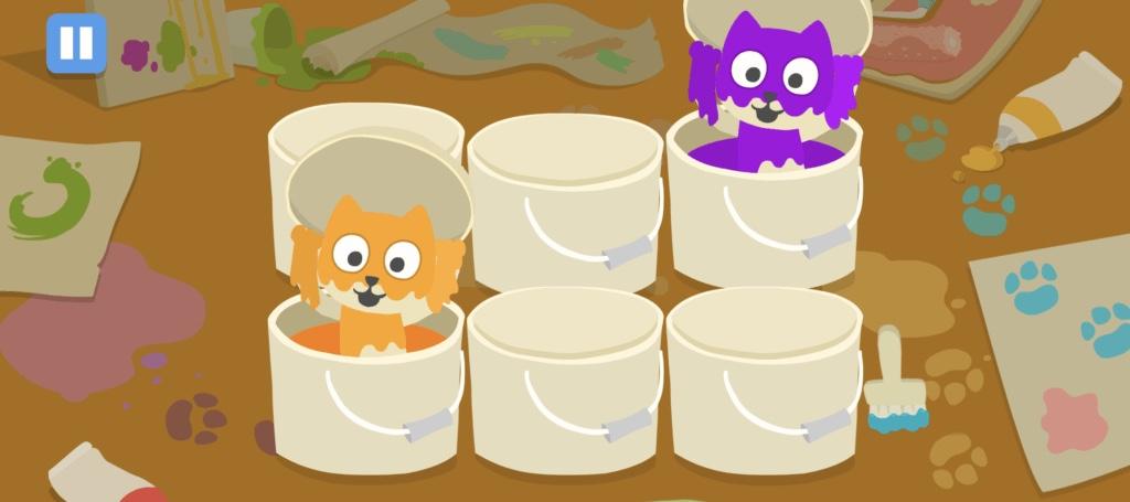 小学生くらいの子供向け英語アプリ『Fun English』のアニメーションの画像