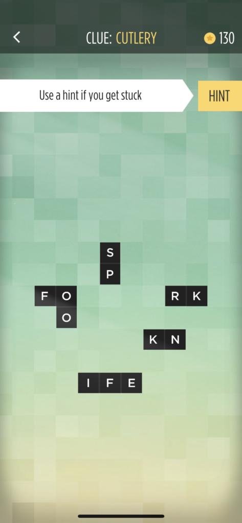 子供向けの英語単語アプリ「Bonza Word Puzzle」のヒントボタンの説明画面
