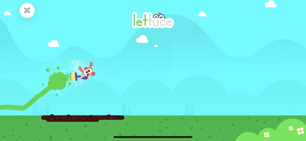 子供向け有料英語アプリのオススメ「LingoKids」のプレイ画面の画像