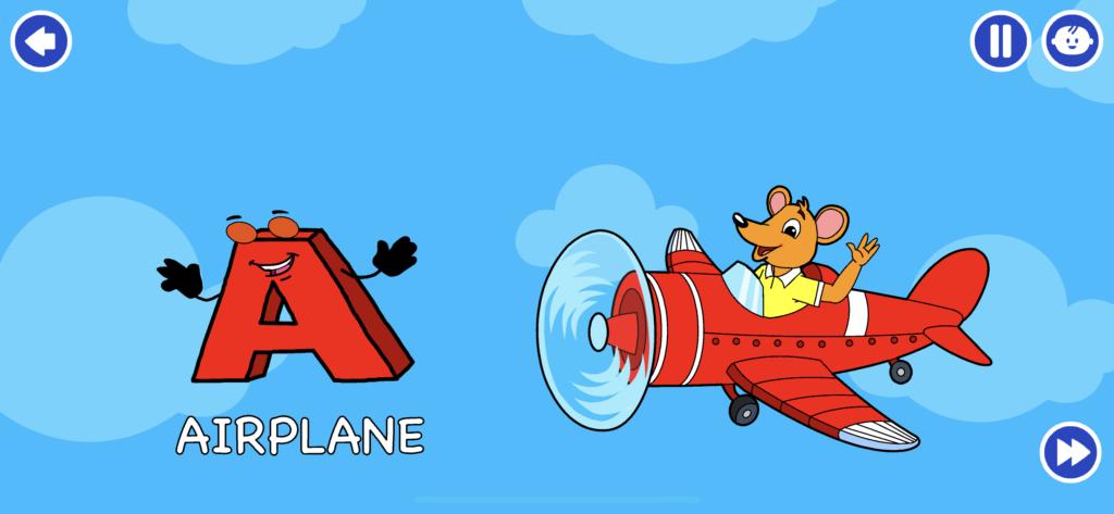 子供向け有料英語アプリのオススメ「KidloLand」のキャラクターをタップする前の画像