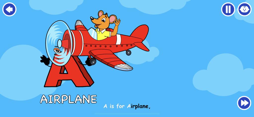 子供向け有料英語アプリのオススメ「KidloLand」のキャラクターをタップした後の画像