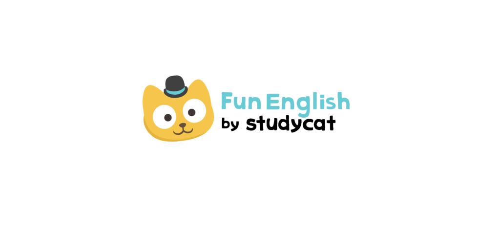 小学生くらいの子供向けの英語アプリ『Fun English』のstudycatの画像