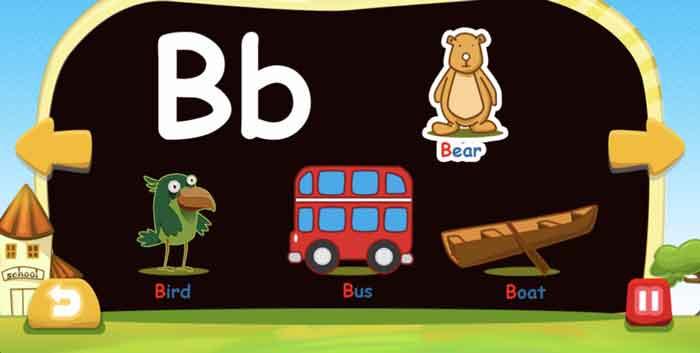 フォニックスファンデーションの「B」の発音