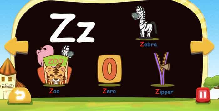 フォニックスファンデーションの「Z」の発音