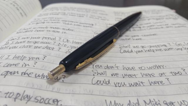 英語の学習ノート