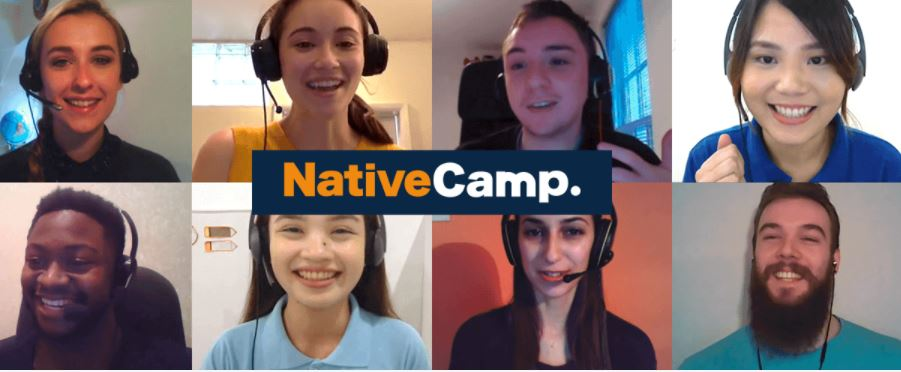 native camp先生たち